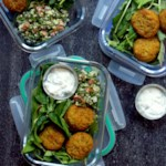 Falafel Tabbouleh Bowls with Tzatziki