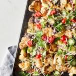 Cauliflower Chicken Nachos