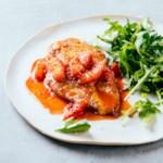 Chicken Paillards with Blood Orange Pan Sauce