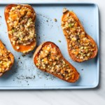 Apple & Pecan Stuffed Butternut Squash