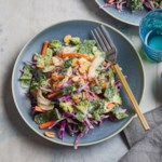 Chopped Salad with Chicken & Avocado-Buttermilk Dressing