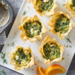 Muffin-Tin Spanakopita Omelets