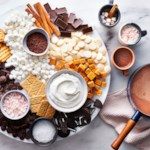 Boozy Hot Chocolate Board