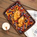 Sheet-Pan Harissa Chicken & Vegetables
