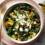 Kale & Avocado Salad with Blueberries & Edamame