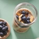 Vanilla-Cranberry Overnight Oatmeal