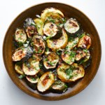 Simple Roasted Zucchini & Squash