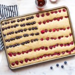 Sheet-Pan American Flag Pancake