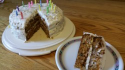 Awesome Carrot Cake with Cream Cheese Frosting Recipe ...