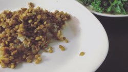 Coconut-Curry Lentil Stew Served over Quinoa Recipe ...