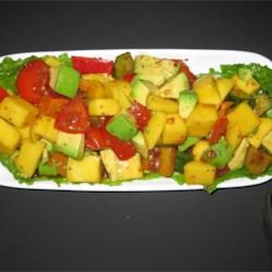 Greek Mango Salad