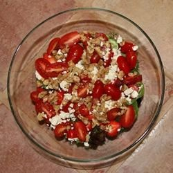 Tomato and Strawberry Salad
