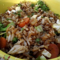 Vegetable Fried Rice Recipe - Take the mystery out of fried rice by tackling this recipe featuring a vegetarian version, easily adapted for your favorite vegetables or even the addition of meat.
