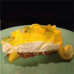 Lemon Pretzel Salad with Mango and Kiwi