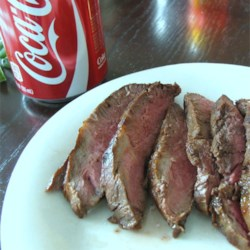 Cola Marinated Sirloin Steak
