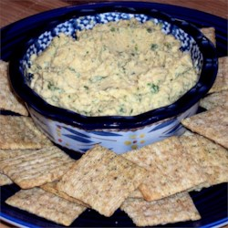 Yummy Cilantro-Jalapeno Hummus Recipe - This quick and easy recipe for hummus is accented with the flavors of cilantro, jalapeno, lemon, and garlic.