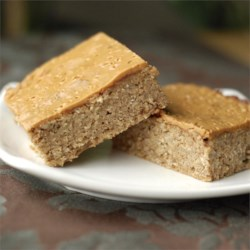 High-Fiber, High-Protein Breakfast Bars Recipe - Ingredients such as wheat germ, flaxseed, protein powder, peanut butter and oats make these breakfast bars a healthy and tasty way to start the day.