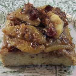 Baked Cinnamon Apple French Toast Recipe - Baked cinnamon apple French toast can be prepared the night before and baked in the morning for a sweet breakfast treat on holidays.