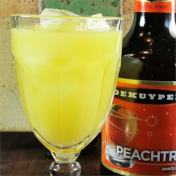 Fuzzy Navel Cocktail Recipe - The only fuzzy about this cocktail of peach schnapps and orange juice will be your vision. Drink with caution!