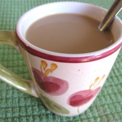 Fireside Coffee Recipe - A tasty mocha-flavored powdered hot drink mix will hit the spot when you're chilled, want a comforting hot drink, or are sitting around the camp after hiking. Just mix with a mug of hot water.