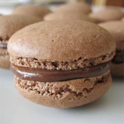 French Chocolate Macaroons - Macarons au chocolat