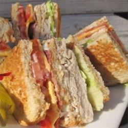 Deluxe Turkey Club Sandwich
