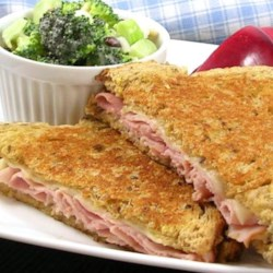 Christy's Awesome Hot Ham & Cheese