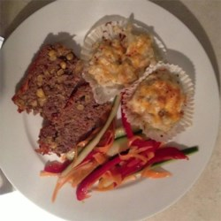 Easy Salsa Meatloaf with Spicy Cauliflower Bites and Sweet & Spicy Thai Chili Cucumber Salad