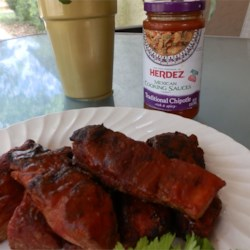 Herdez Chipotle BBQ Pork Country Ribs