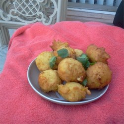 Vegetable Nuggets Recipe - Deep-fried nuggets made mostly of corn. Submitted in regards to a request from a mother concerning a school product served to her child. The product you are referring to is a commercially prepared product. Here is my version of this product.