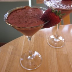 Strawberry Chocolate Tequila Cocktail