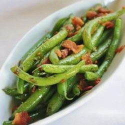 Quick Zesty Green Beans Recipe - Here's a change of pace: crispy stir-fried beans that are excellent as an appetizer or side dish. Green vegetables are rich in antioxidants and tied to lower risks for certain cancers.