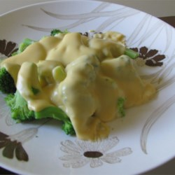 Mom's Broccoli With Cheese Sauce