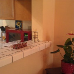 My new red microwave!