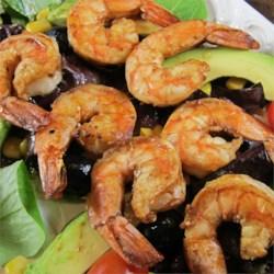 Grilled Pasilla Chile Shrimp