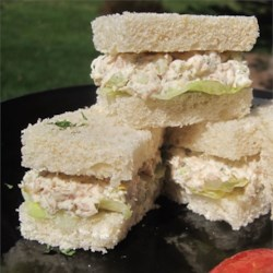 Tuna Salad Tea Sandwiches