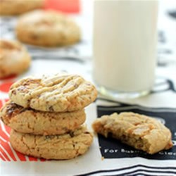 Butterfinger(R) Cookies Recipe - A great cookie for those Butterfinger candy lovers in your family!