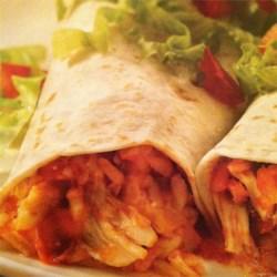 Chicken-Rice Burritos