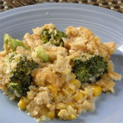 Broccoli-Corn Casserole