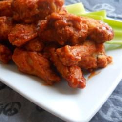 Red Guajillo Chili Chicken Wings