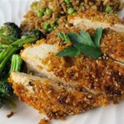 Oven-Baked Sesame Chicken