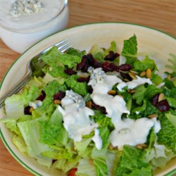 Blue Cheese Horseradish Dressing Recipe - A richly flavored blue cheese dressing gets a hint of zip from horseradish and a dash or two of hot sauce.