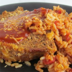 Mexican Meatloaf with Herdez Red Guajillo Chile Sauce