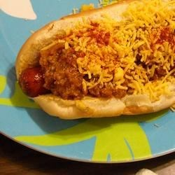 New York System Hot Wiener Sauce I Recipe - This hearty, flavorful wiener sauce is like the kind you'll find in Rhode Island and Massachusetts. It may be frozen until ready for use. Use premium grilled wieners cooked in butter, steamed hot dog buns and the fancy mustard of your choice. Spread with mustard, the sauce, chopped onions and celery salt.
