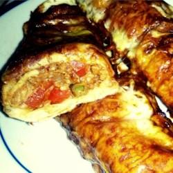 Vegetable Enchiladas with Mole Sauce