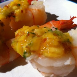 Spicy Mango Sauce Recipe and Video - Try this bright, delightful, spicy mango sauce over grilled fish.