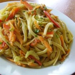'Cold Sesame Noodles and Vegetables'-Allrecipes Australia
