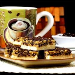 Mocha Cheesecake Espresso Blondies