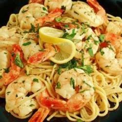 Shrimp Lemon Pepper Linguini