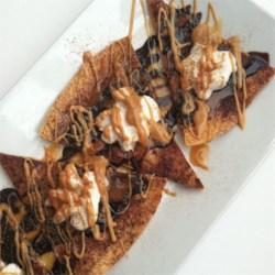 Chocolate Allspice Dessert Nachos